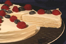 Sacramento Cookie Factory Celebration Torte Recipe