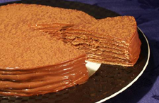 Sacramento Cookie Factory Nutella Light Torte Recipe